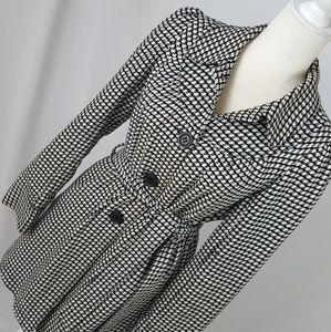 Roxy - Houndstooth Tweed Coat